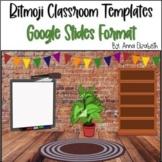 Bit Emoji Virtual Classroom Templates {Google Slides}