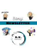 Bitmoji Newsletter Template (EDITABLE)