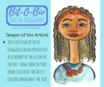 Bit-O-Bio, Faith Ringgold