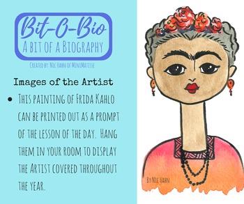 Bit-O-Bio, Frida Kahlo
