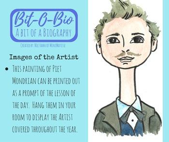 Bit-O-Bio, Piet Mondrian