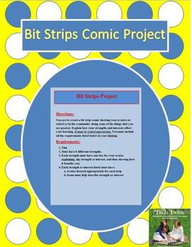 Bit Strips Comic Project (YouTube tutorials included!)