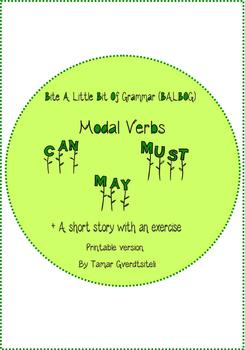 Bite A Little Bit Of Grammar-Modal Verbs:Can, May, Must.