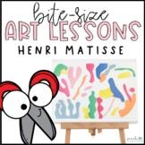 Elementary Art Lesson | Henri Matisse | Spring Art
