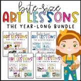 Elementary Art Lessons | YEAR-LONG Bundle