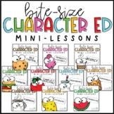 Character Education Mini-Lessons BUNDLE | PowerPoint & Goo