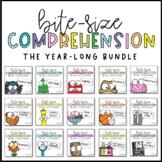 Reading Comprehension Lessons BUNDLE  | PowerPoint & Googl