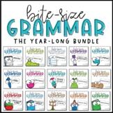 Grammar Mini-Lessons BUNDLE | PowerPoint & Google Slides
