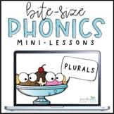 Phonics Mini-Lesson   Plural Nouns -S & -ES