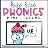 Bite-Size Phonics Lessons - UR
