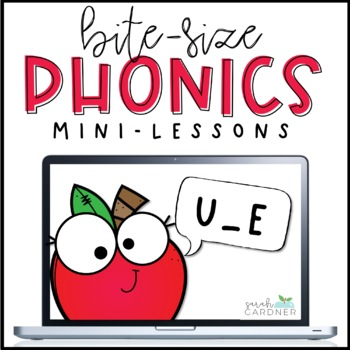 Bite-Size Phonics Lessons - U_E