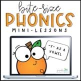Phonics Mini-Lesson | Y as a Vowel