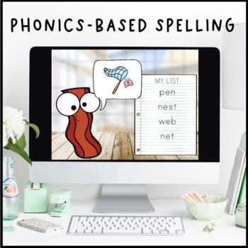 Bite-Size Phonics Lessons - Short E
