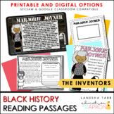 Black History- Inventors NOW DIGITAL!