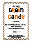Bite-Sized Brain Candy Halloween Challenge