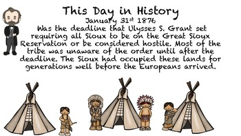 Bite Sized History- This day in History Sioux Indians