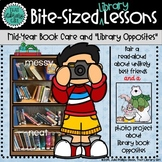 Bite-Sized Library Lessons - Polar Opposites, Antonyms and