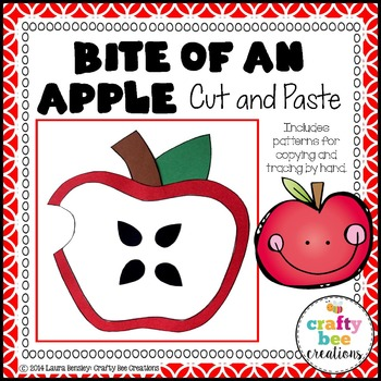 Bite of an Apple Cut and Paste