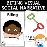 Biting Social Narrative Visual