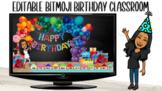 Bitmoji BIRTHDAY Classroom