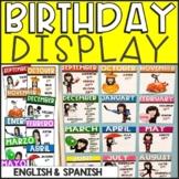 Bitmoji Birthday Chart (EDITABLE)