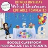 Bitmoji Birthday Party Rooms Personalized