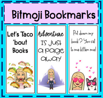 Bitmoji Bookmarks