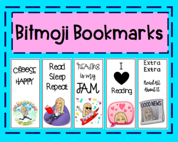 Bitmoji Bookmarks