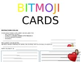 *Editable* Bitmoji Cards (Feedback, Greeting, Notes, etc...)