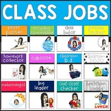 Class Jobs in English and Spanish (Editable)