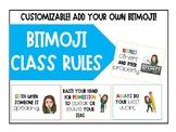 Bitmoji Class Rules