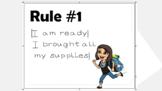 Bitmoji Class Rules Jr.