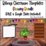 Bit Emoji Classroom Templates Growing Bundle {Google Slide
