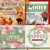 Bitmoji Classroom Templates Seasonal Megapack (Growing Bundle!)
