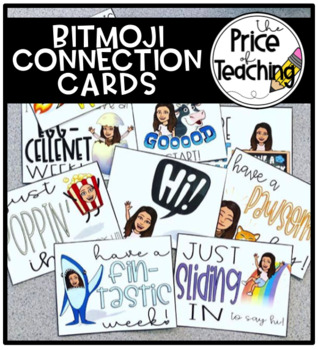 Bitmoji Connection Cards
