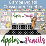 Bitmoji Digital Classroom Freebie