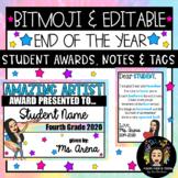 Bitmoji & Editable: End of the Year Bundle