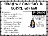Gift Tag for Back to School