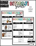 Bitmoji Google Hangout Goals- DIGITAL