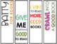 Bitmoji Halloween Bookmarks