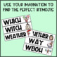 Bitmoji Homophone Word Wall Cards