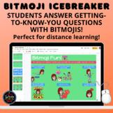 Bitmoji Icebreaker: Students Use Bitmojis to Answer Questi