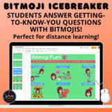 Bitmoji Icebreaker: Students Use Bitmojis to Answer Questi
