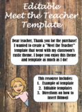 Bitmoji Meet the Teacher Template