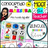 Bitmoji Meet the Teacher in SPANISH