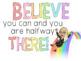 Bitmoji Motivational Posters and Bookmarks