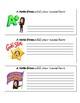 Bitmoji Postive Notes from the Teacher - Editable!