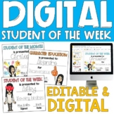Student of the Week Certificates (Distance Learning)