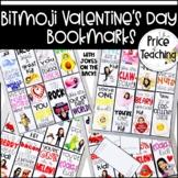 Editable Bitmoji Valentine's Day Bookmarks (with jokes)