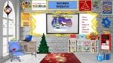 Bitmoji Virtual Classroom  December Holidays, Christmas, C